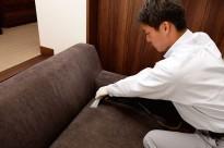 布張り・ソファーなどのファニチャークリーニング